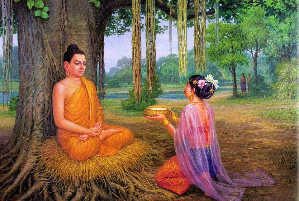 Phật Thích Ca nói về sự bố thí trong các kinh tạng