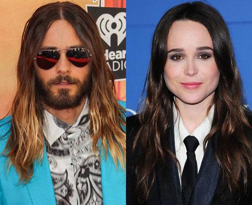Jared Leto va Ellen Page